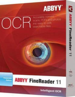 Графический пакет ABBYY FineReader 11 Professional Edition