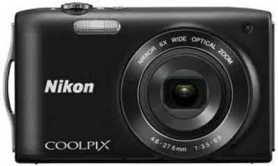 Фотоаппарат Nikon Coolpix S3200 Black