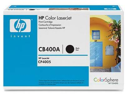 Картридж HP CLJ CP4005 black CB400A