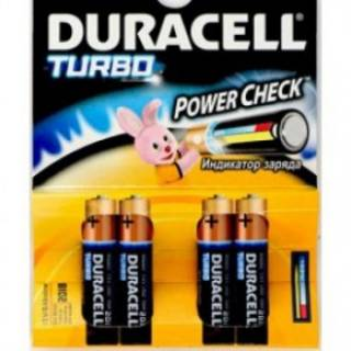 Батарейка Duracell LR06 MX1500 Turbo Max 81368066