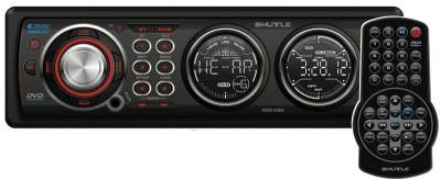 Авторесивер Shuttle SDD-580 Black/Red