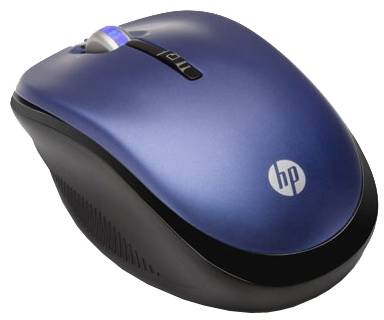 Мышка HP 2.4GHz Wireless Optical (Pacific Blue) Mobile Mouse LX731AA#ABB