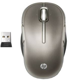 Мышка HP Wireless Laser Mobile Mouse LX729AA#ABB