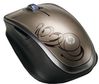 Мышка HP Wireless Laser Comfort Mouse XV425AA
