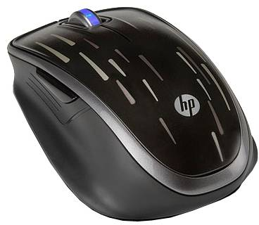 Мышка HP Wireless Laser Comfort Mouse XV426AA