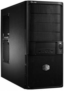 Корпус CoolerMaster Elite 335U 460W Black/Silver RC-335UKKP460
