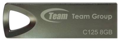 Флеш-память USB Team C125 8Gb Silver TC1258GB01