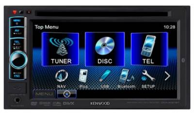 Авторесивер Kenwood DDX-4051BT