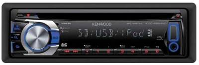 Авторесивер Kenwood KDC-4654SD