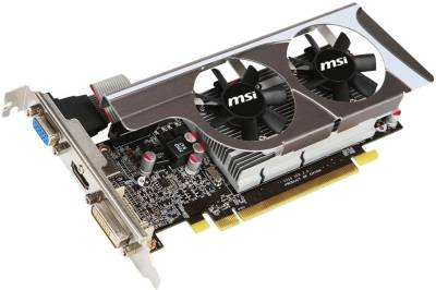 Видеокарта MSI Radeon HD6570 1Gb R6570-MD1GD3/LP V2