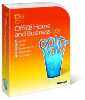 Microsoft Office Home and Business 2010 BOX 32-bit/x64 Russia T5D-00415