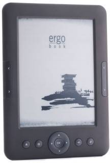 Электронная книга Ergo BOOK 0612 Grey