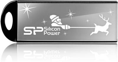 Флеш-память USB Silicon Power TOUCH 830 Black SP016GBUF2830V1K-LE