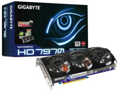 Видеокарта Gigabyte Radeon HD 7970 3072Mb GV-R797TO-3GD