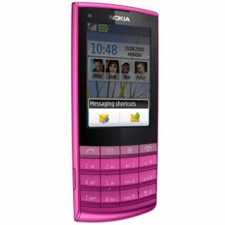 Смартфон Nokia X3-02 (Touch and Type) Pink 002V3K2