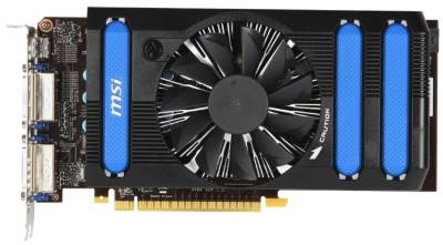 Видеокарта MSI GeForce GTX650 1024Mb N650-1GD5/OC