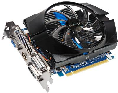 Видеокарта Gigabyte GeForce GTX650 Ti 1024Mb GV-N65TOC-1GI