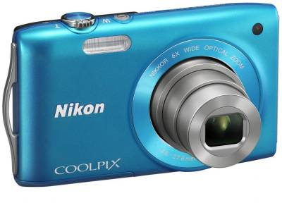 Фотоаппарат Nikon Coolpix S3200 Blue
