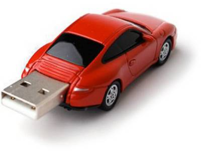 Флеш-память USB Autodrive 92914W-RED-4GB