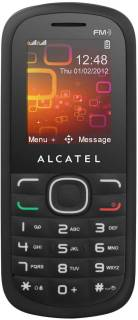 Смартфон Alcatel One Touch 318DX Black