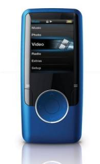 MP3 плеер Ergo Zen modern 4GB Blue MP620-4GB