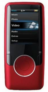 MP3 плеер Ergo Zen modern 8GB Red MP620-8GB