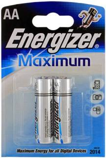 Батарейка ENERGIZER AA Maximum LR6 * 2 634133