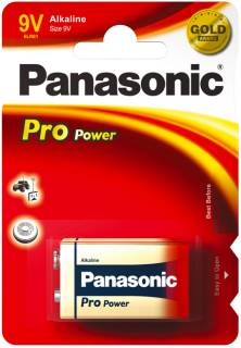 Батарейка Panasonic PRO POWER 6LR61 BLI 1 ALKALINE 6LR61XEG/1BP