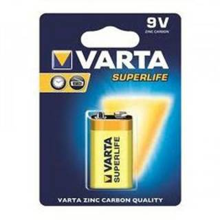 Батарейка Varta SUPERLIFE 9-VOL BLI1 6F22 ZINC-CARBON 02022101411