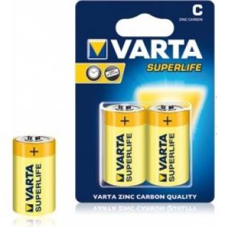 Батарейка Varta SUPERLIFE BABY BLI ZINC-CARBON 02014101412