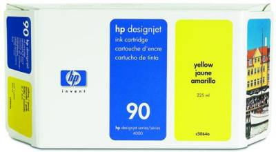 Картридж HP No.90 DesignJ4000 yellow (C5064A)
