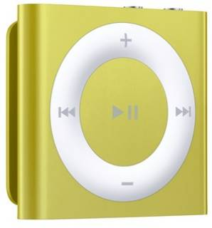 MP3 плеер Apple iPod shuffle 2GB Yellow MD774RP/A