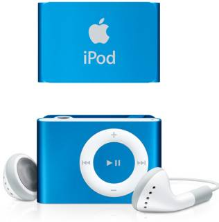 MP3 плеер Apple A1373 iPod shuffle 2GB Blue (new color) MD775RP/A