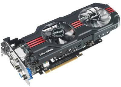 Видеокарта ASUS GeForce GTX650 Ti 1024Mb GTX650TI-DC2T-1GD5