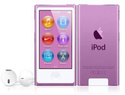 MP3 плеер Apple A1446 iPod nano 16GB Purple (7Gen) MD479QB/A