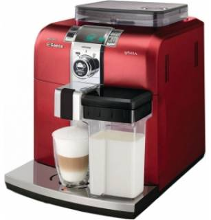 Кофеварка Saeco Syntia Cappuccino Premium Red HD8838/32