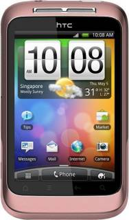 Смартфон HTC A510e WildfireS Pink