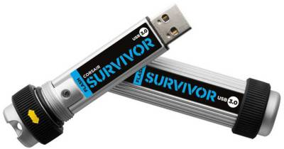 Флеш-память USB Corsair USB3.0 Survivor 64GB CMFSV3-64GB