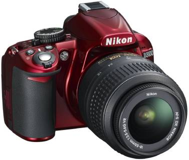 Фотоаппарат Nikon D3100 Kit 18-55VR Red VBA281K001