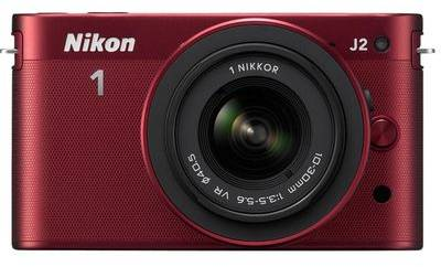 Фотоаппарат Nikon 1 J2 Red Kit + 11-27.5mm VVA164K005