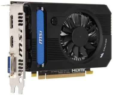 Видеокарта MSI Radeon HD 7750 2048Mb R7750-PMD2GD3