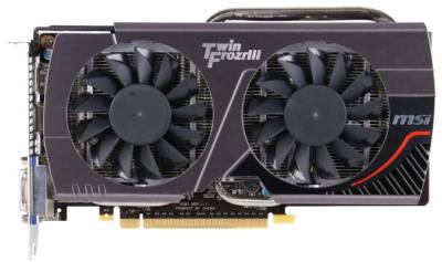 Видеокарта MSI GeForce GTX660 2GB N660TF2GD5/OC