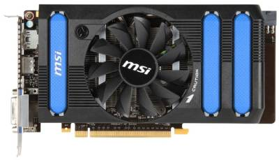 Видеокарта MSI GeForce GTX660 2GB N660-2GD5/OC