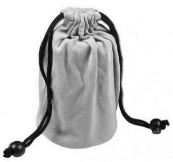 Средство Giottos Cleaning Pouch For Medium Zoom Lens Grey (12*20cm) CL3632G