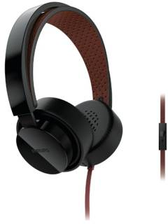 Наушники Philips SHL5205BK/10 Mic Black