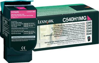 Картридж Lexmark C54x/ X54x Magenta High Yield RP 2k C540H1MG