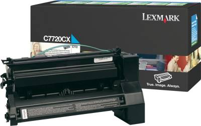 Картридж Lexmark C77x Cyan High Yield RP 15k C7720CX