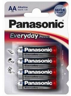 Батарейка Panasonic EVERYDAY POWER AA BLI 4 ALKALINE LR6REE/4BR