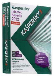 Антивирус Kaspersky Internet Security 2012, 32/64-bit KL1843LBEFR