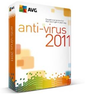 Антивирус AVG Anti-Virus 2011, Standard AVC1N12BXXS001